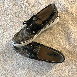 ✨Sperry Topsider Cheetah Shoes Size 8✨